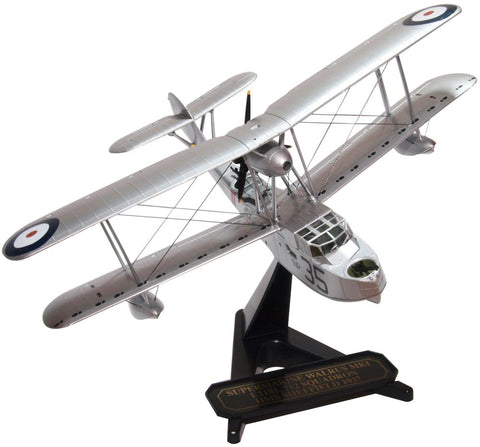 Oxford Diecast Supermarine Walrus L2185 -712 SQN HMS Sheffield 1937