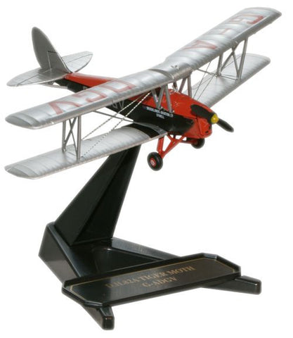 Oxford Diecast DH Tiger Moth Brooklands Aviation 1:72 Model Aircraft