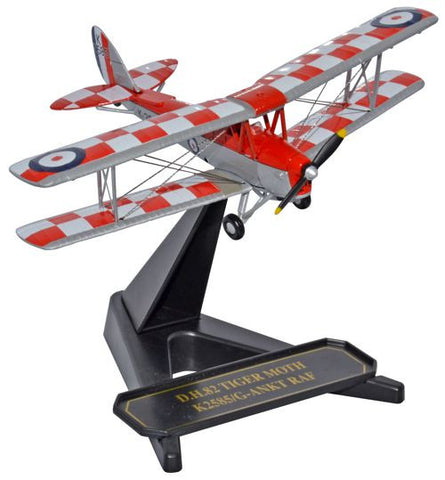 Oxford Diecast DH82a Tiger Moth  K2585 32 Squadron 1:72 Model Aircraft