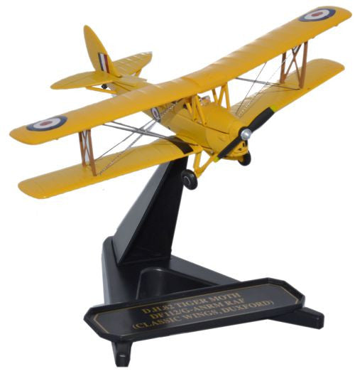 Oxford Diecast DH Tiger Moth Classic Wings 1:72 Model Aircraft