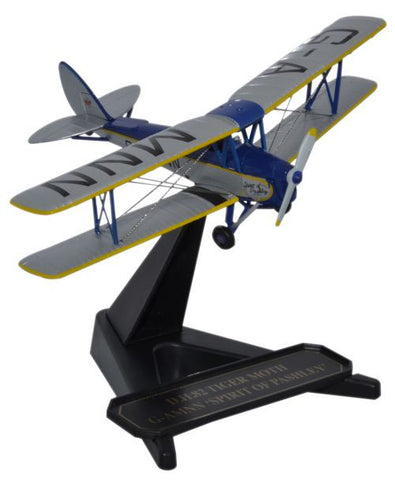 Oxford Diecast DH Tiger Moth Spirit of Pashley 1:72 Model Aircraft