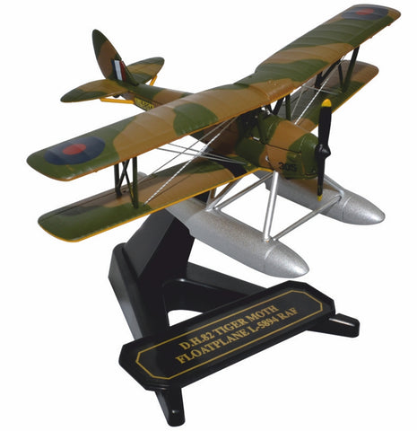 Oxford Diecast Tiger Moth Floatplane RAF  L-5894 1:72 Model Aircraft