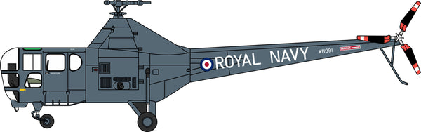 Oxford Diecast Westland Dragonfly Royal Navy WH991 Yorkshire Air Mus