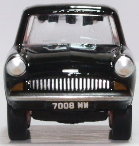Oxford Diecast Ford Anglia 105E Black 1:76