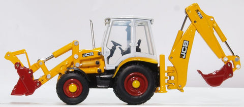 Oxford Diecast JCB 3CX Eco Backhoe Loader 70th Anniversary