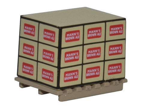 Oxford Diecast Pallet Loads Manns Brown Ale * 4