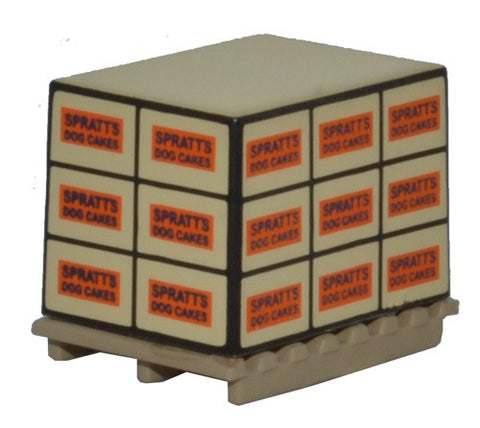 Oxford Diecast Pallet Loads Spratts Dog Cakes * 4