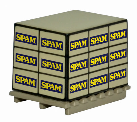Oxford Diecast Accessories Pallet Load Spam