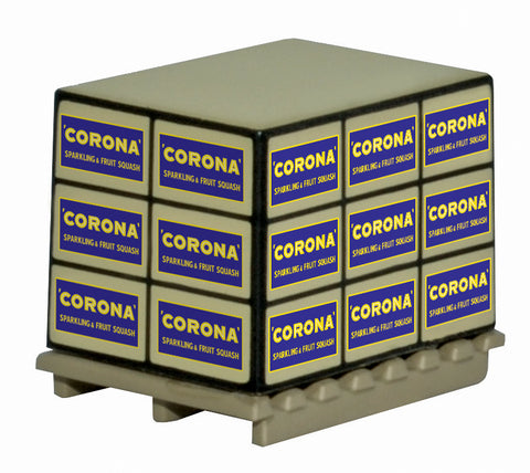 Oxford Diecast Accessories Pallet Load Corona Squash