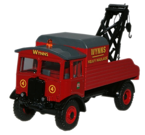 Oxford Diecast Wynns AEC Matador Wrecker - 1:76 Scale