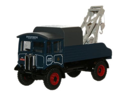 Oxford Diecast AEC Matador Wrecker Pickfords - 1:76 Scale