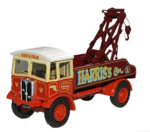 Oxford Diecast AEC Matador Wrecker Harris Old Time Fairground - 1:76 S