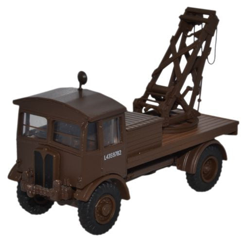 Oxford Diecast AEC Matador Wrecker British Army SCC2 Brown - 1:76 Scal