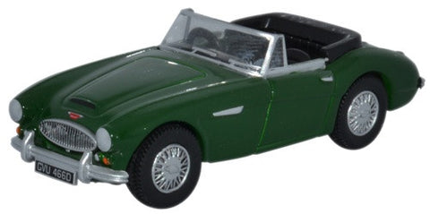 Oxford Diecast Austin Healey 3000 British Racing Green
