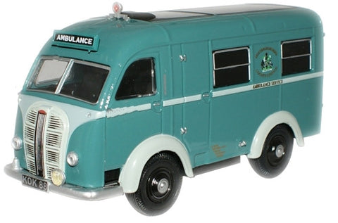 Oxford Diecast Nottingham Ambulance Austin Welfarer Ambulance - 1:76 S