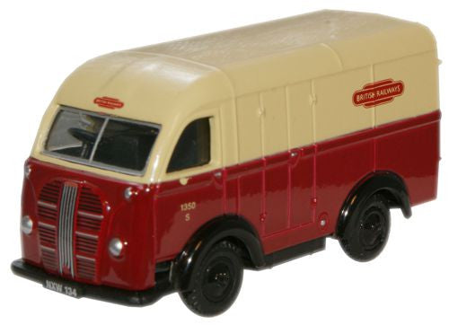 Oxford Diecast Austin 3 Way Van British Rail - 1:76 Scale