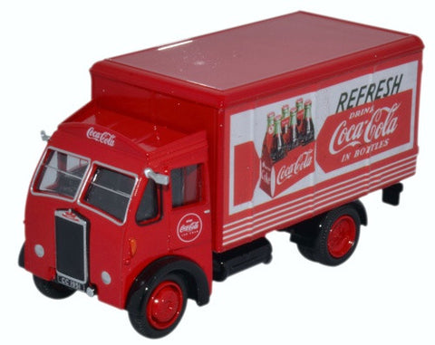 Oxford Diecast Albion Box Van Coca Cola