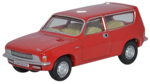 Oxford Diecast Flamenco Red Austin Allegro Estate - 1:76 Scale