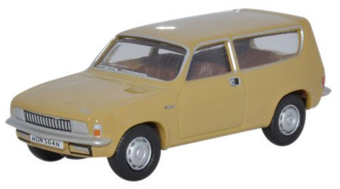 Oxford Diecast Austin Allegro Harvest Gold - 1:76 Scale