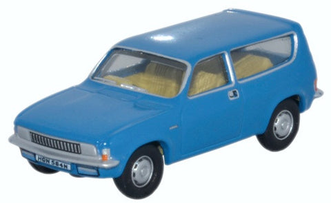Oxford Diecast Austin Allegro Estate Tahiti Blue