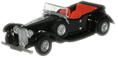 Oxford Diecast Black Alvis Speed Twenty - 1:76 Scale