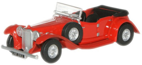 Oxford Diecast Regency Red Alvis Speed Twenty - 1:76 Scale