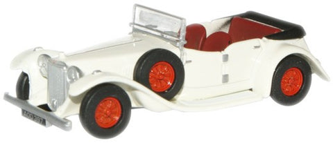 Oxford Diecast Cream Alvis Speed Twenty - 1:76 Scale