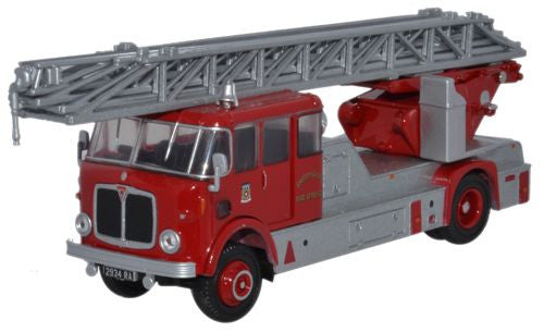 Oxford Diecast AEC Mercury TL Derbyshire Fire Service - 1:76 Scale