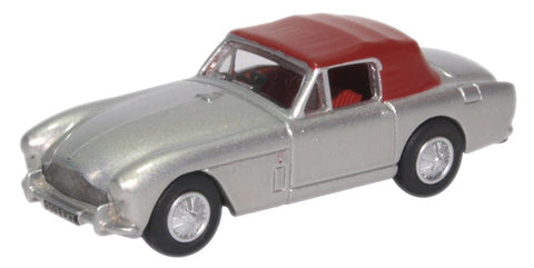Oxford Diecast Aston Martin Db2 Mkiii Dhc Snow Shadow Silver