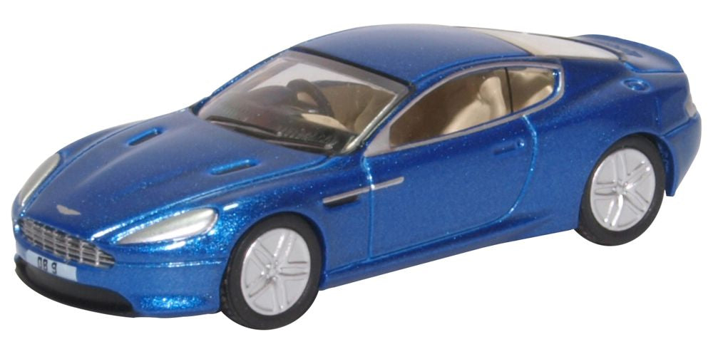 Aston Martin DB Coupe Cobalt Blue By Oxford Diecast Scale - Aston martin db9 coupe