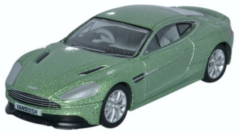Oxford Diecast Aston Martin Vanquish Coupe Appletree Green