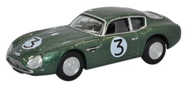Oxford Diecast Aston Martin Db4gt Zagato 2 Vev Jim Clark Goodwood 1961