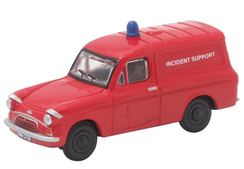 Oxford Diecast Fire Van - Anglia - 1:76 Scale
