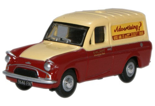 Oxford Diecast East Kent Ford Anglia Van - 1:76 Scale