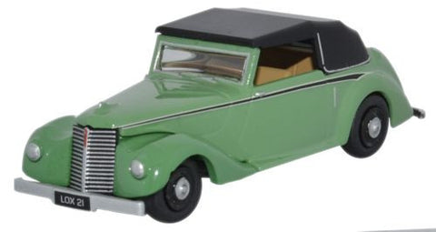 Oxford Diecast Armstrong Siddeley Hurricane Closed Green - 1:76 Scale