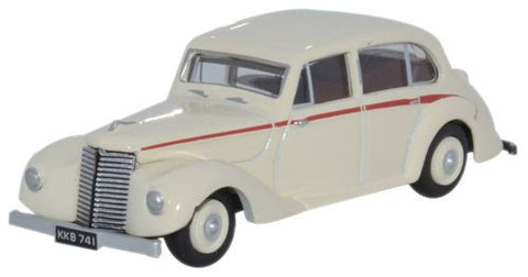Oxford Diecast Armstrong Siddeley Lancaster Ivory - 1:76 Scale