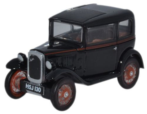 Oxford Diecast Austin Seven Saloon Black