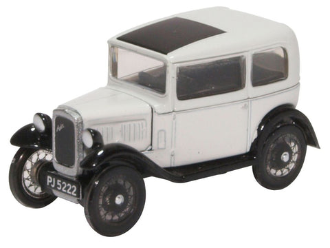 Oxford Diecast Austin Seven Saloon Light Grey