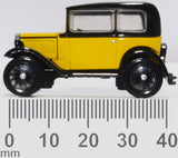 Oxford Diecast Austin Seven Yellow and Black