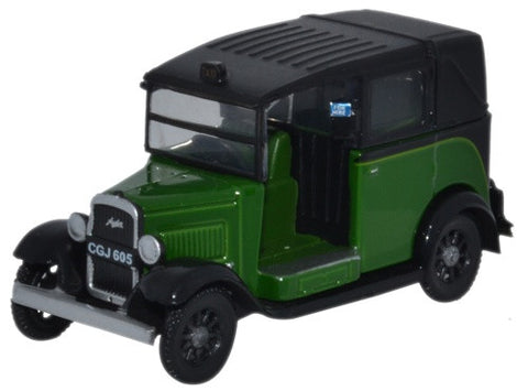 Oxford Diecast Austin Low Loader Taxi Westminster Green - 1:76 Scale