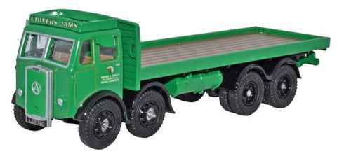 Oxford Diecast Atkinson 8 Wheel Flatbed Chivers - 1:76 Scale