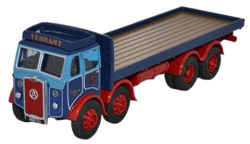 Oxford Diecast Atkinson 8 Wheel Flatbed Tennant Transport