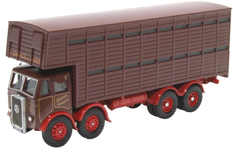 Oxford Diecast Atkinson Cattle Truck L Davies & Sons