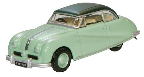 Oxford Diecast Ash Green Austin Atlantic Saloon - 1:76 Scale