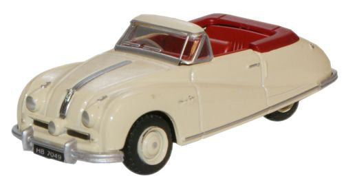 Oxford Diecast Cream Austin Atlantic Convertible - 1:76 Scale