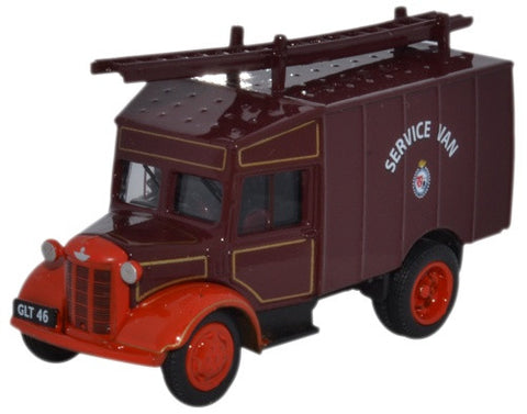 Oxford Diecast Austin ATV Newcastle & Gateshead Fire Service