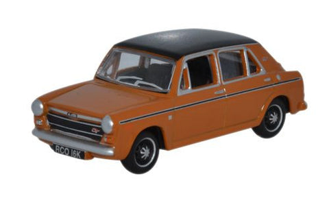 Oxford Diecast Austin 1300 Bronze Yellow - 1:76 Scale