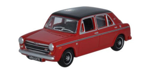 Oxford Diecast Austin 1300 Flame Red - 1:76 Scale