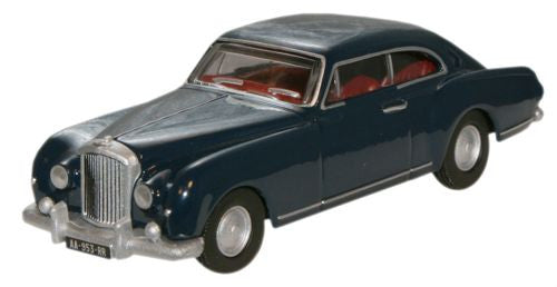 Oxford Diecast Dawn Blue Bentley S1 Continental Fastback - 1:76 Scale