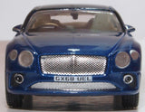Oxford Diecast Bentley Continental GT Peacock Blue 1:76